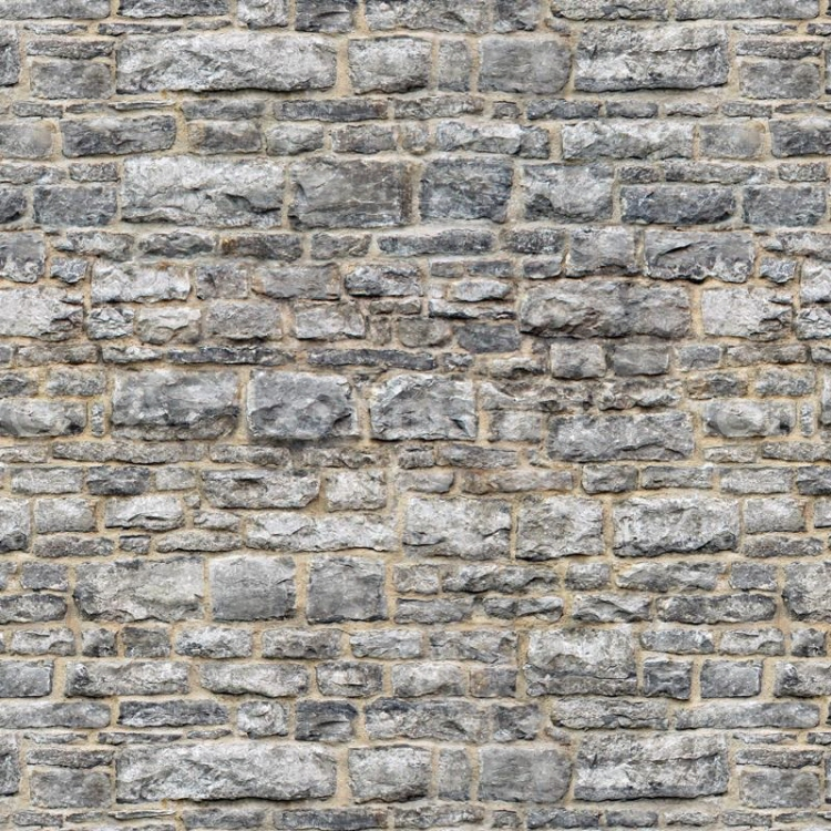 Puppenhaus Ziegel Tapete : Light Grey Brick Stone Walls