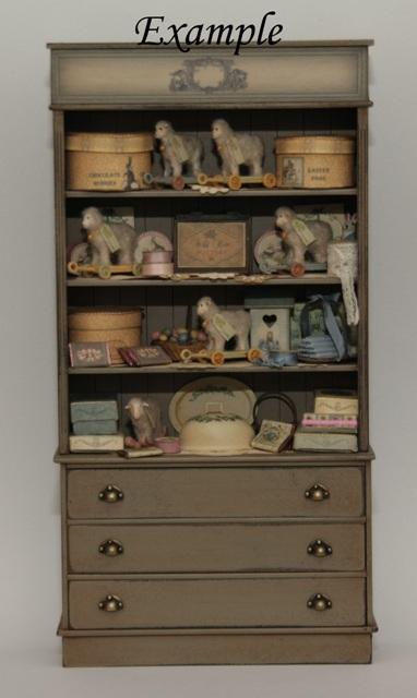 High Vintage Shop Cabinet