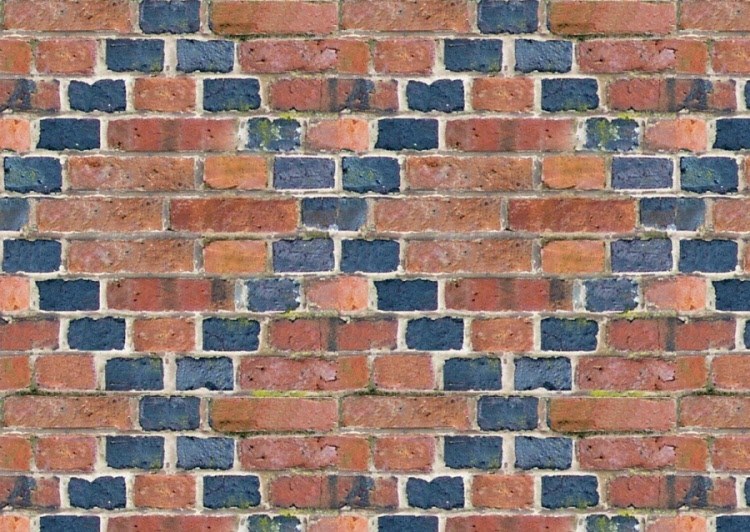 Old World Decorative Brick Pattern Cladding