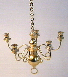 Showing 1 Review: - Non-Working Brass  Crystal Chandelier